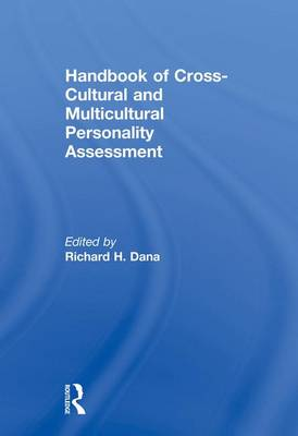 Handbook of Cross-Cultural and Multicultural Personality Assessment (Paperback)