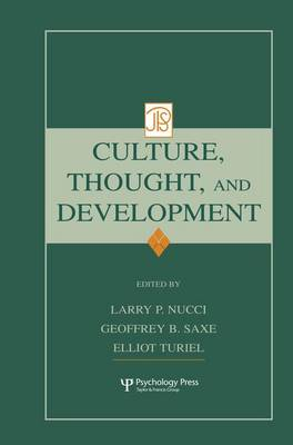 Culture, Thought, and Development - Jean Piaget Symposia Series (Paperback)
