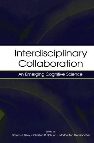 Cover Interdisciplinary Collaboration: An Emerging Cognitive Science