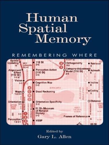 Human Spatial Memory: Remembering Where (Paperback)