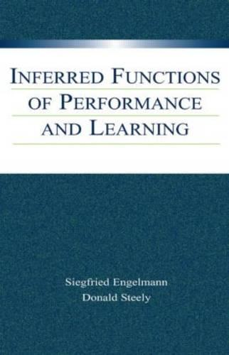 Inferred Functions of Performance and Learning (Paperback)