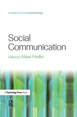 Cover Social Communication - Frontiers of Social Psychology