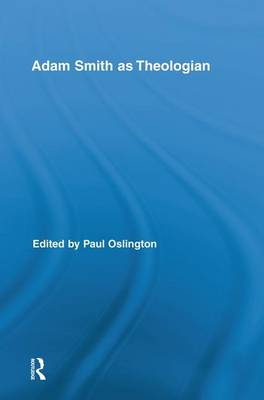 Cover Adam Smith as Theologian - Routledge Studies in Religion