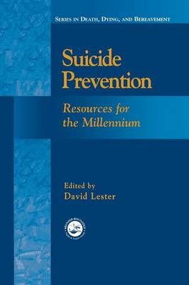 Suicide Prevention: Resources for the Millennium (Paperback)