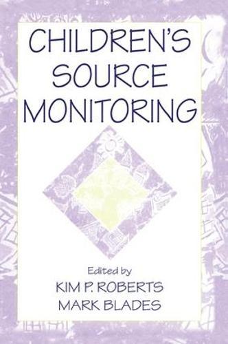 Children's Source Monitoring (Paperback)