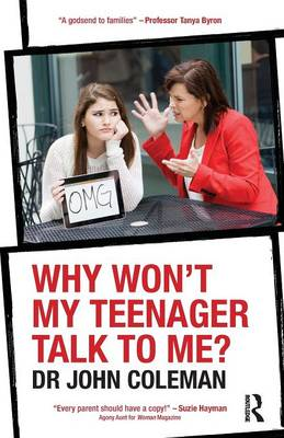 Why Won't My Teenager Talk to Me? (Paperback)
