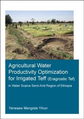 Agricultural Water Productivity Optimization for Irrigated Teff (Eragrostic Tef) in a Water Scarce Semi-Arid Region of Ethiopia (Paperback)