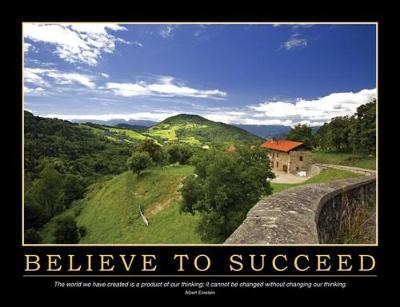 Believe to Succeed Poster (Book)