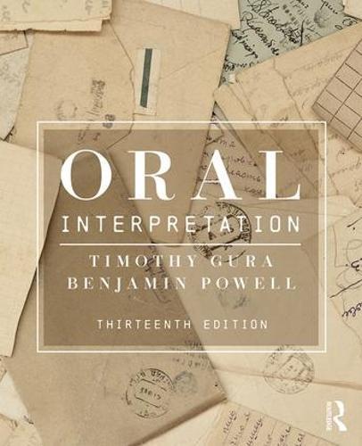 Oral Interpretation (Paperback)