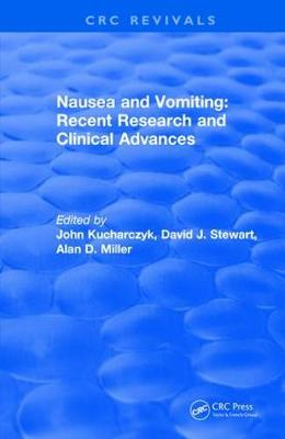 Nausea and Vomiting - CRC Press Revivals (Hardback)