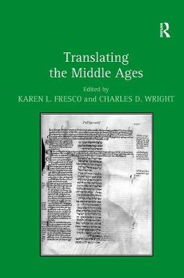 Translating the Middle Ages (Paperback)