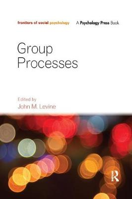 Group Processes - Frontiers of Social Psychology (Paperback)