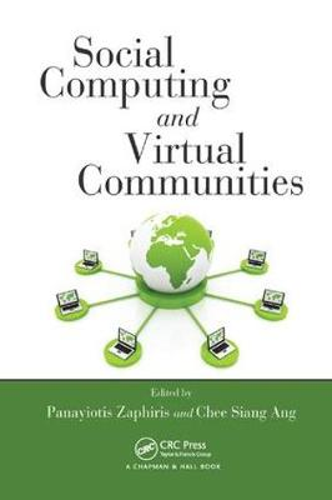 Social Computing and Virtual Communities (Paperback)