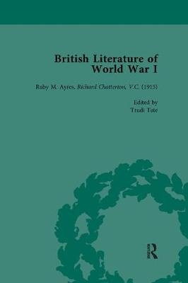 British Literature of World War I, Volume 2 (Paperback)