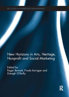 New Horizons in Arts, Heritage, Nonprofit and Social Marketing - Key Issues in Marketing Management (Paperback)