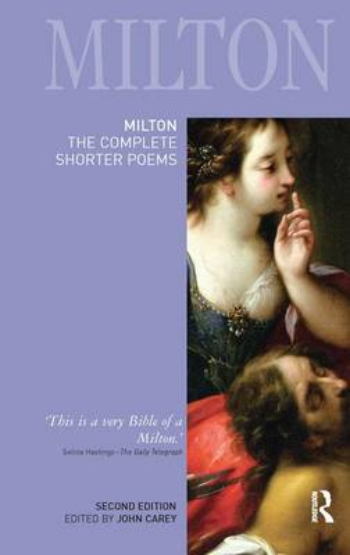 Milton: The Complete Shorter Poems - Longman Annotated English Poets (Hardback)
