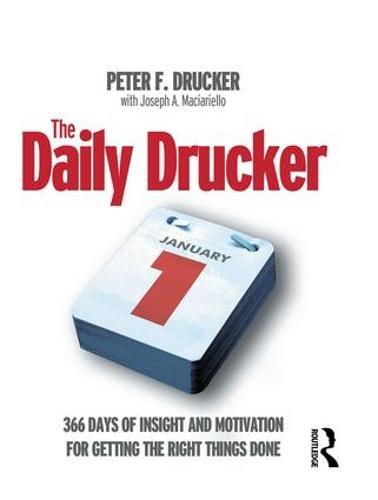 The Daily Drucker (Hardback)