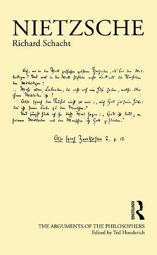 Nietzsche - Arguments of the Philosophers (Hardback)
