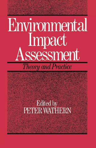 Environmental Impact Assessment: Theory and Practice (Hardback)