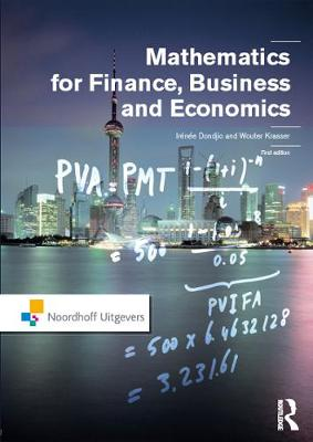 Mathematics for Finance, Business and Economics (Hardback)