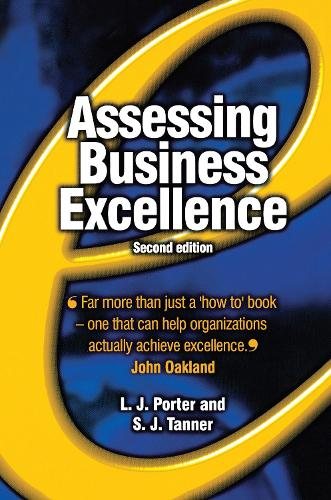 Assessing Business Excellence (Hardback)
