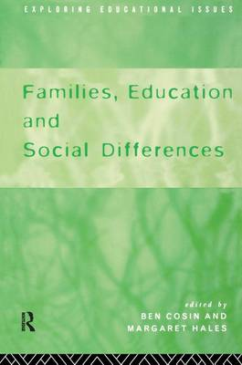 Families, Education and Social Differences (Hardback)