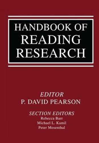 Handbook of Reading Research (Hardback)