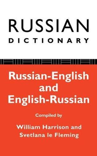 Russian Dictionary: Russian-English, English-Russian (Hardback)