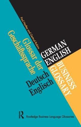 German/English Business Glossary (Hardback)