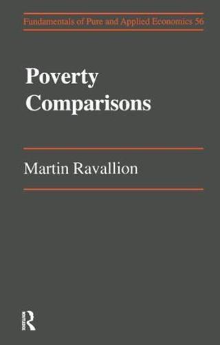 Poverty Comparisons (Hardback)
