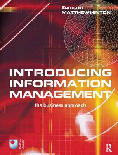 Introducing Information Management (Hardback)