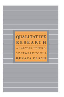 Qualitative Research: Analysis Types and Software (Hardback)