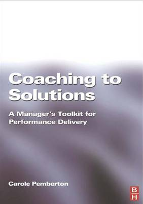 Coaching to Solutions (Hardback)