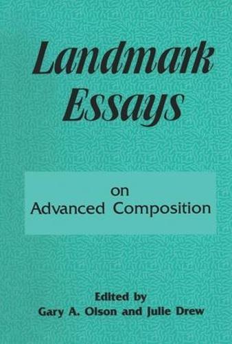 Landmark Essays on Advanced Composition: Volume 10 - Landmark Essays Series (Hardback)