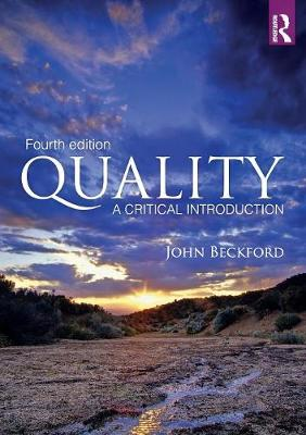 Quality: A Critical Introduction (Paperback)