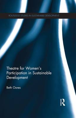 Theatre for Women's Participation in Sustainable Development (Paperback)
