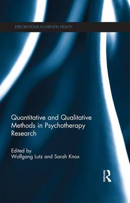 Quantitative and Qualitative Methods in Psychotherapy Research (Paperback)