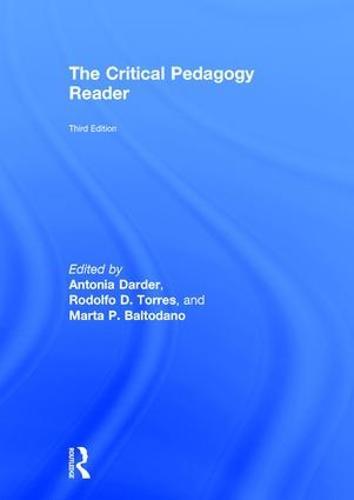 The Critical Pedagogy Reader (Hardback)