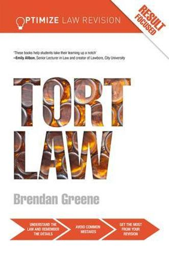 Optimize Tort Law - Optimize (Paperback)