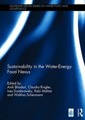 Sustainability in the Water-Energy-Food Nexus - Routledge Special Issues on Water Policy and Governance (Hardback)