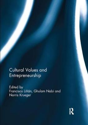 Cultural Values and Entrepreneurship (Paperback)