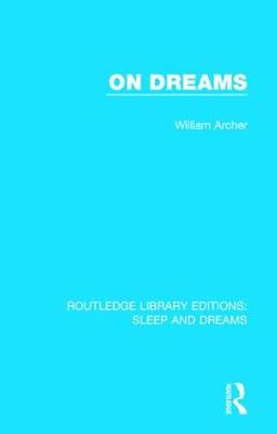 On Dreams - Routledge Library Editions: Sleep and Dreams (Hardback)