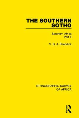 The Southern Sotho: Southern Africa Part II (Hardback)