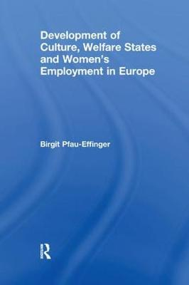 Development of Culture, Welfare States and Women's Employment in Europe (Paperback)