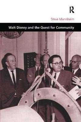 Cover Walt Disney and the Quest for Community