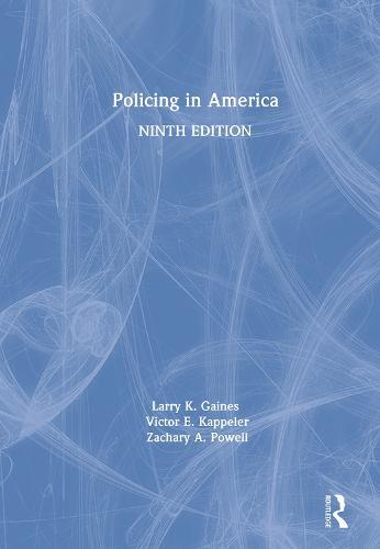 Policing in America (Hardback)