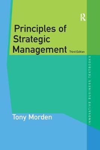 Principles of Strategic Management - Innovative Business Textbooks (Paperback)