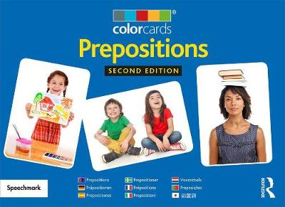 Prepositions: Colorcards - Colorcards