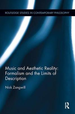 Cover Music and Aesthetic Reality: Formalism and the Limits of Description - Routledge Studies in Contemporary Philosophy