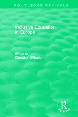 Inclusive Education in Europe - Routledge Revivals (Paperback)
